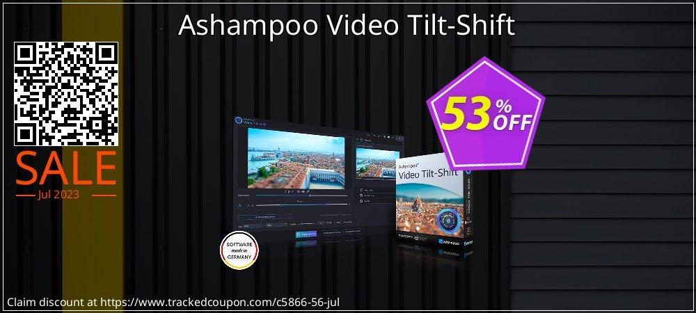 Ashampoo Video Tilt-Shift coupon on Emoji Day offering sales