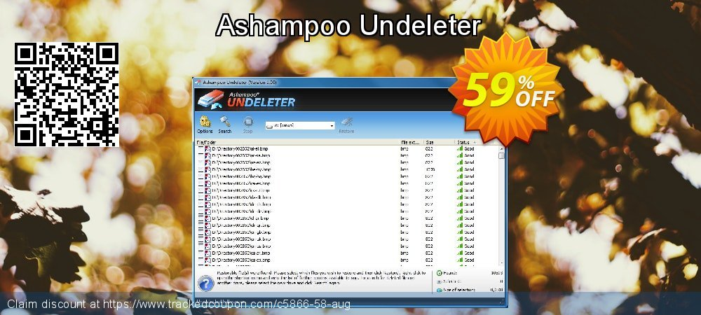 Claim 59% OFF Ashampoo Undeleter Coupon discount August, 2020