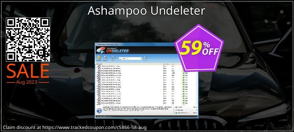 Ashampoo Undeleter coupon on Summer discounts