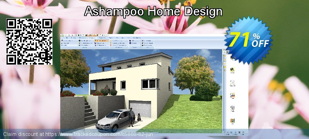 Ashampoo Home Design coupon on National French Fry Day offer