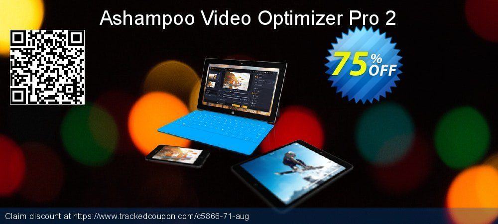 Get 72% OFF Ashampoo Video Optimizer Pro offering sales