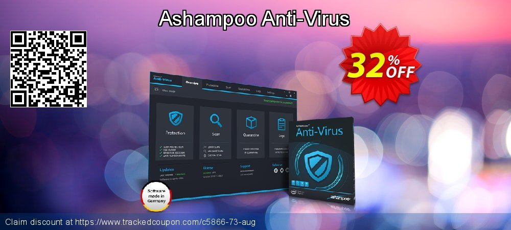 Ashampoo Anti-Virus coupon on American Independence Day offering discount