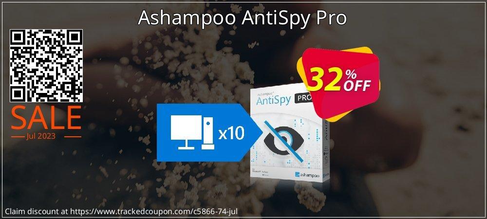 Ashampoo AntiSpy Pro coupon on World Chocolate Day offering sales