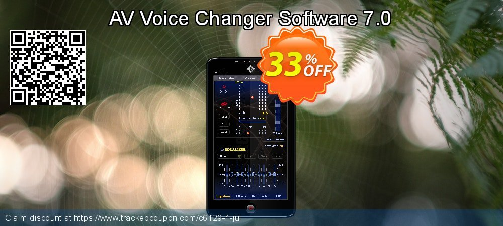 Get 40% OFF AV Voice Changer Software discount