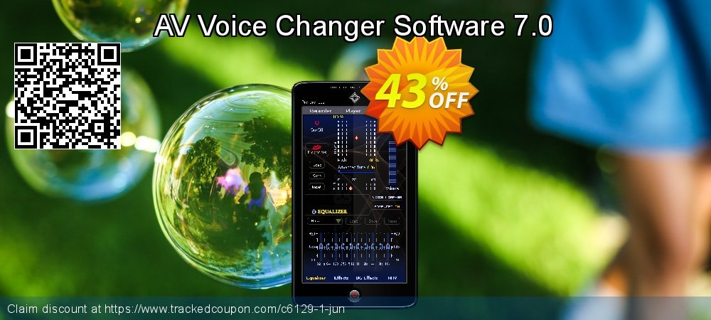 AV Voice Changer Software 7.0 coupon on Lunar New Year sales