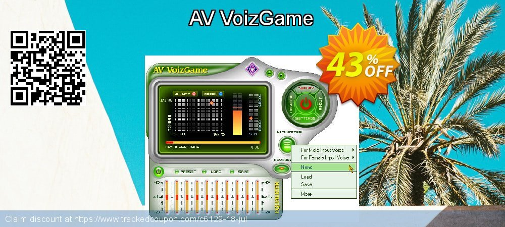 AV VoizGame coupon on Easter offer