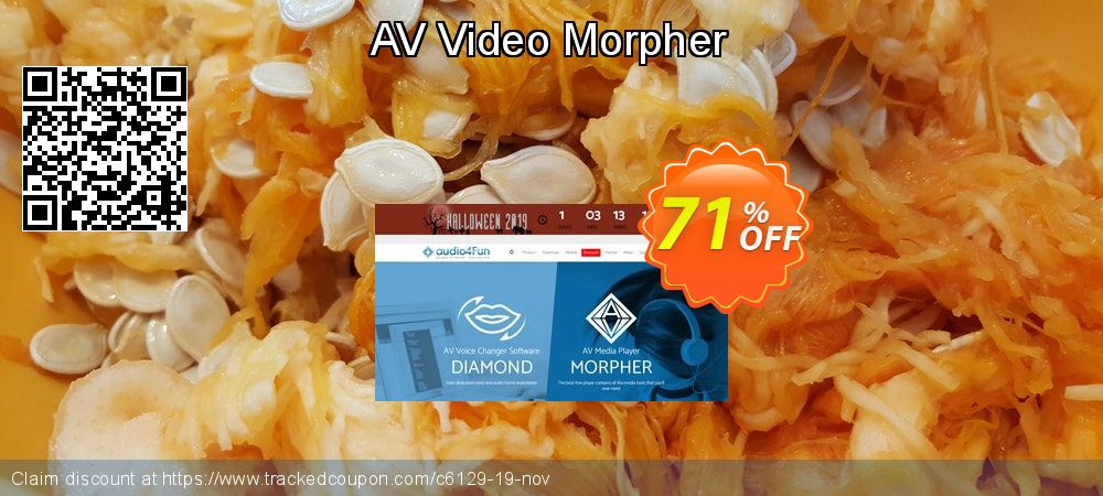 AV Video Morpher coupon on Valentine Week discounts