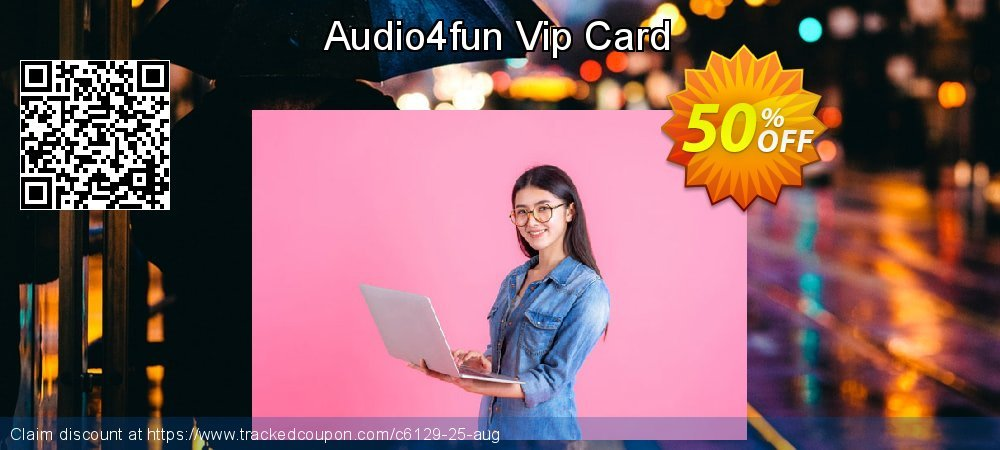Audio4fun Vip Card coupon on New Year's Day super sale