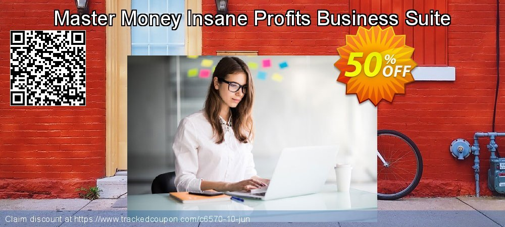 Get 50% OFF Master Money Insane Profits Business Suite offering sales