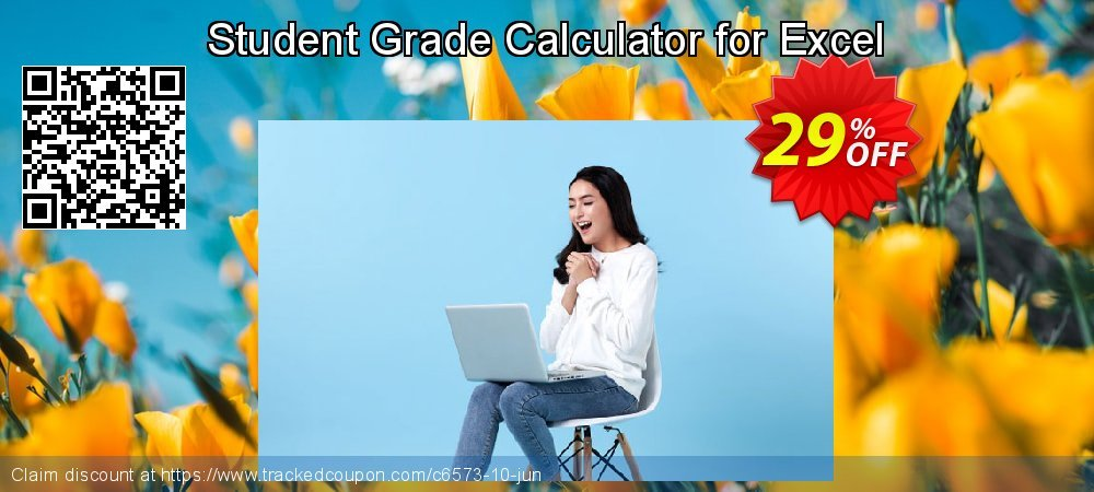 Student Grade Calculator for Excel coupon on Happy New Year discount