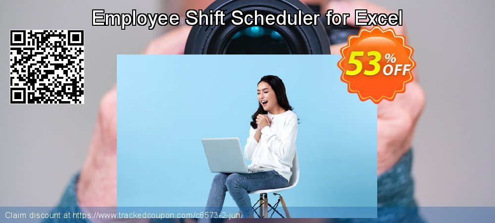 Get 50% OFF Employee Shift Scheduler for Excel discounts