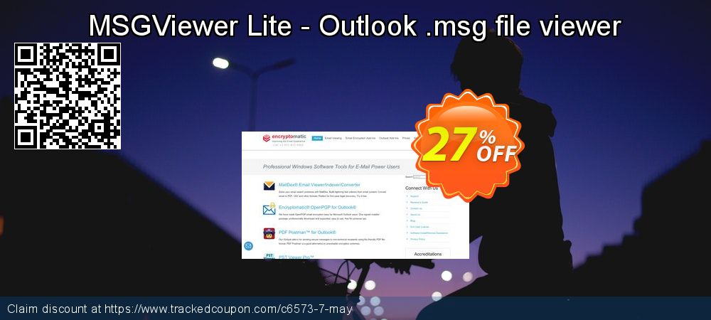 MSGViewer Lite - Outlook .msg file viewer coupon on Back to School offer discounts