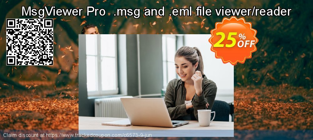 Get 25% OFF MsgViewer Pro .msg and .eml file viewer/reader deals