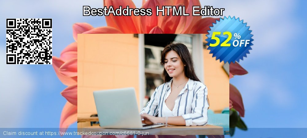 Get 50% OFF BestAddress HTML Editor offering sales