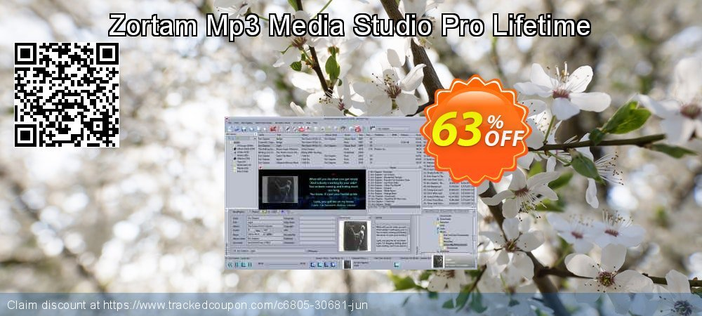 Get 60% OFF Zortam Mp3 Media Studio Pro Lifetime offering sales