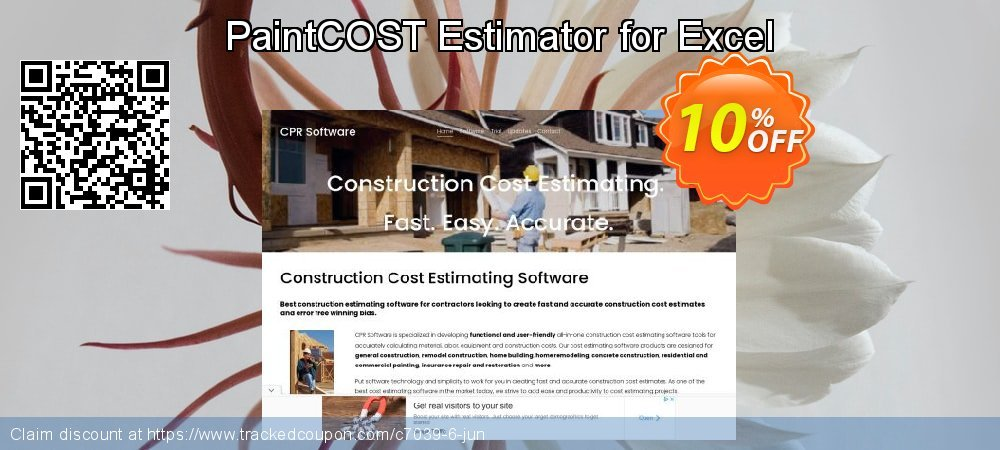 PaintCOST Estimator for Excel coupon on Back to School coupons offering discount
