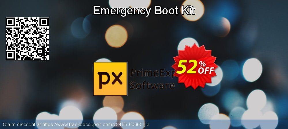 Emergency Boot Kit coupon on World Oceans Day promotions