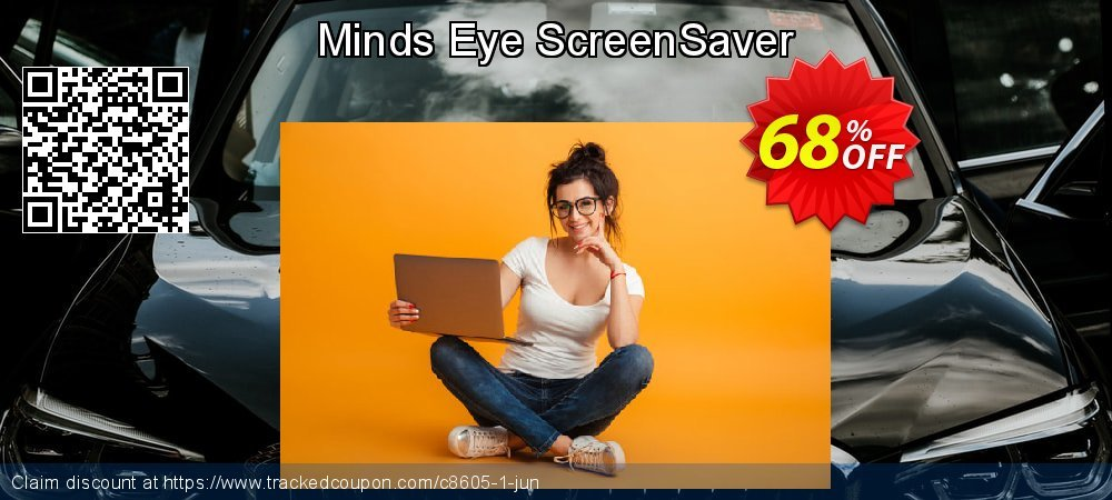 Get 60% OFF Minds Eye ScreenSaver promo sales