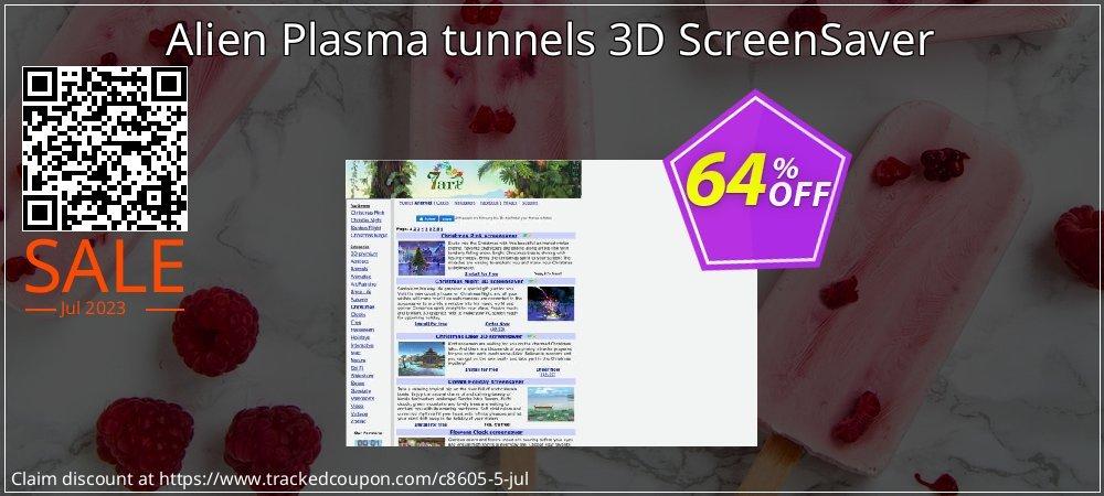 Get 60% OFF Alien Plasma tunnels 3D ScreenSaver offering sales