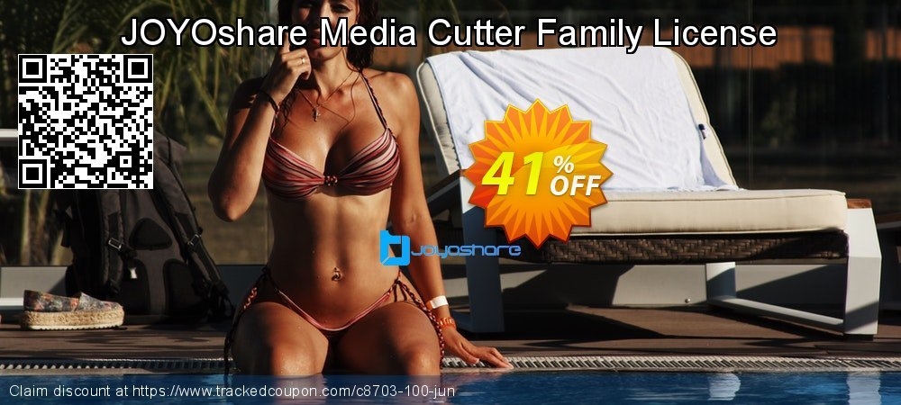 JOYOshare Media Cutter Family License coupon on New Year sales