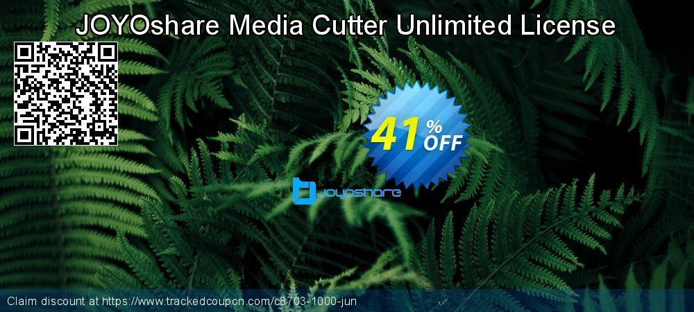 JOYOshare Media Cutter Unlimited License coupon on New Year sales