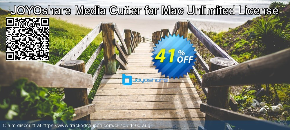 JOYOshare Media Cutter for Mac Unlimited License coupon on New Year deals