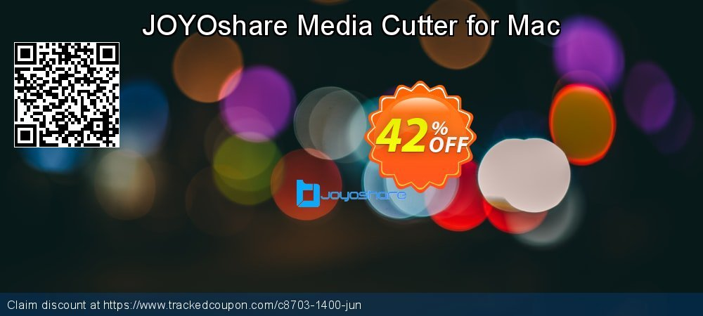 JOYOshare Media Cutter for Mac coupon on New Year offering discount