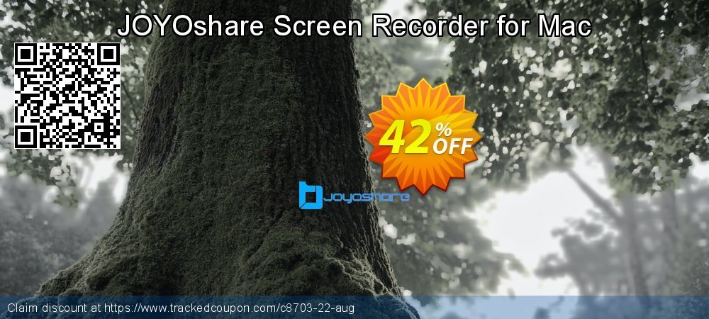 JOYOshare Screen Recorder for Mac coupon on Happy New Year discount