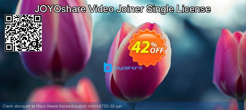 JOYOshare Video Joiner Single License coupon on Happy New Year offer