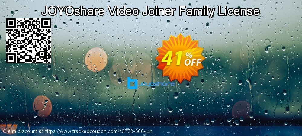 JOYOshare Video Joiner Family License coupon on New Year offer