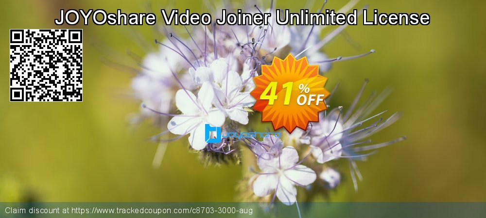 JOYOshare Video Joiner Unlimited License coupon on New Year offer