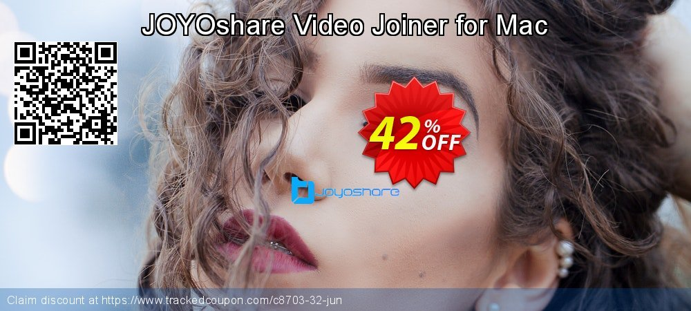 JOYOshare Video Joiner for Mac coupon on New Year offering discount