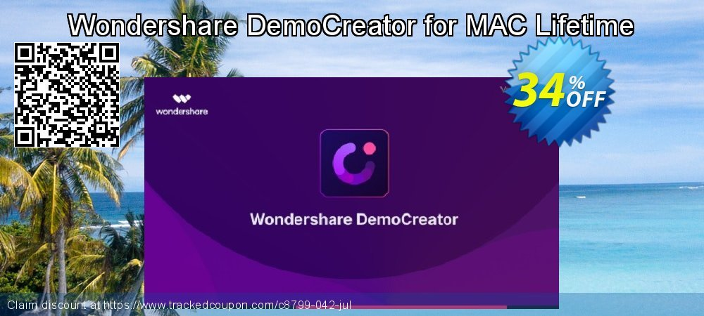 Wondershare DemoCreator for MAC Lifetime coupon on Easter offering sales