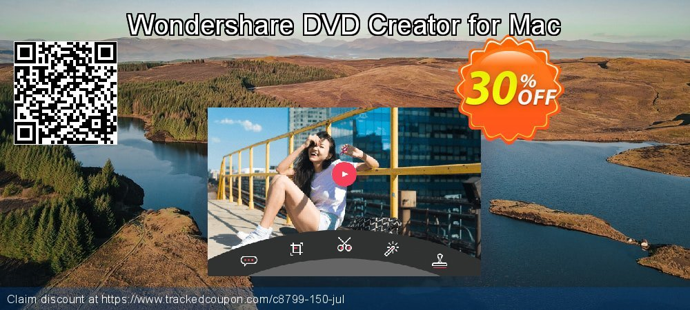 Wondershare DVD Creator for Mac coupon on Happy New Year offer
