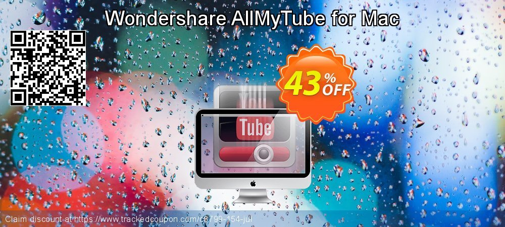 Wondershare AllMyTube for Mac coupon on Happy New Year super sale