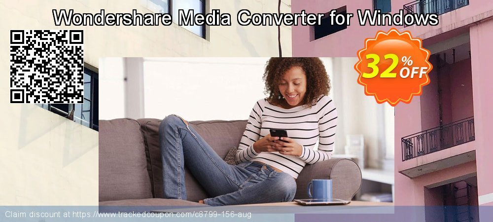 Wondershare Media Converter for Windows coupon on Mid-year offering discount