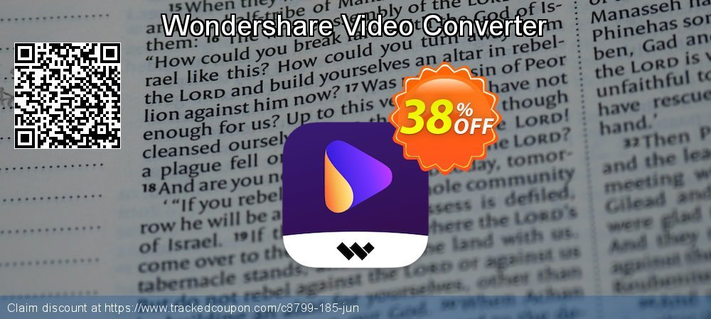 Wondershare Video Converter coupon on New Year's Day deals