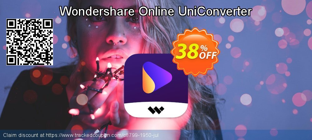 Wondershare Online UniConverter coupon on Easter offering sales