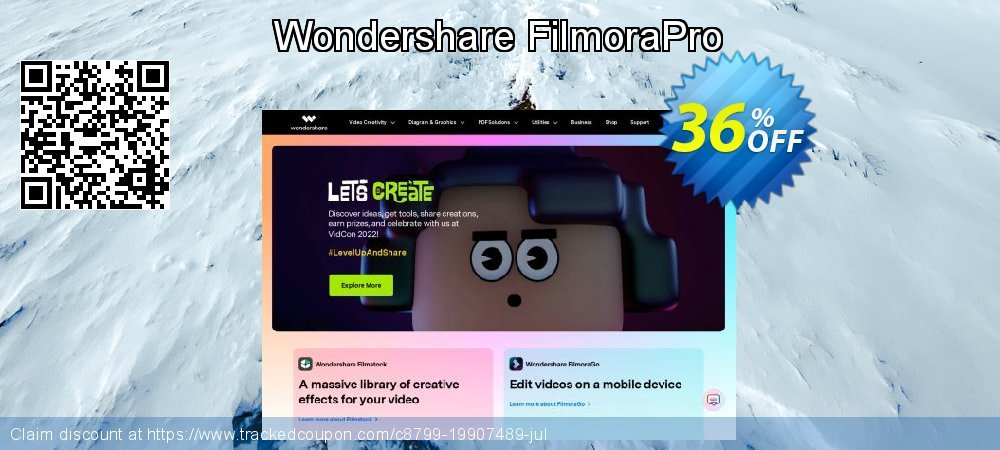 Wondershare FilmoraPro coupon on New Year's Day discounts
