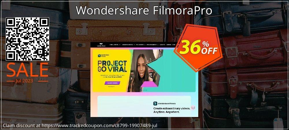 Wondershare FilmoraPro coupon on Easter Sunday deals