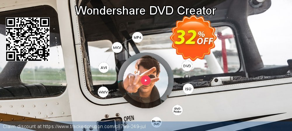 Wondershare DVD Creator for Windows coupon on May Day offer