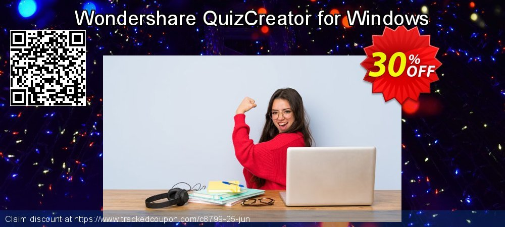 Get 30% OFF Wondershare QuizCreator for Windows discount
