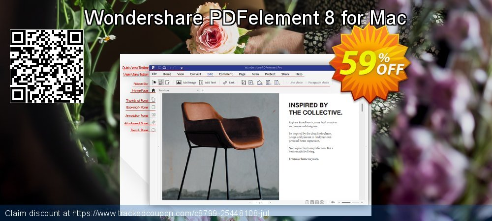 Wondershare PDFelement 8 for Mac coupon on April Fool's Day offering discount