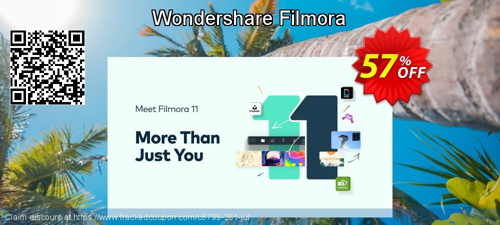 Wondershare Filmora coupon on Int. Workers' Day sales