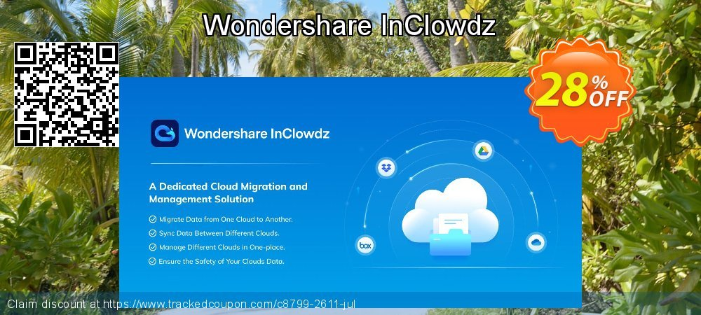 Wondershare InClowdz coupon on World Day of Music offer