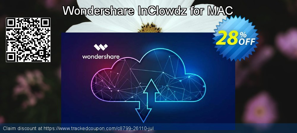 Wondershare InClowdz for MAC coupon on World Bicycle Day offer