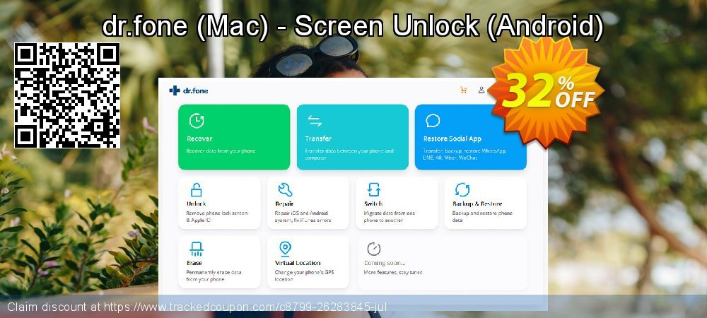dr.fone - Mac - Screen Unlock - Android  coupon on Black Friday promotions