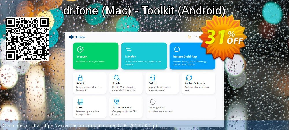 dr.fone - Mac - Toolkit - Android  coupon on April Fool's Day discounts