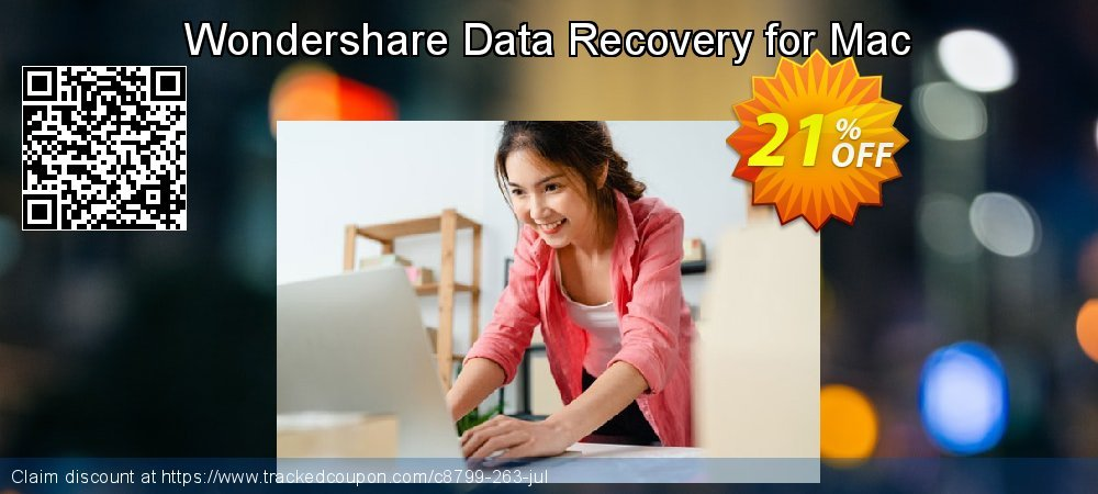 Wondershare Data Recovery for Mac coupon on Back to School promotions offering sales