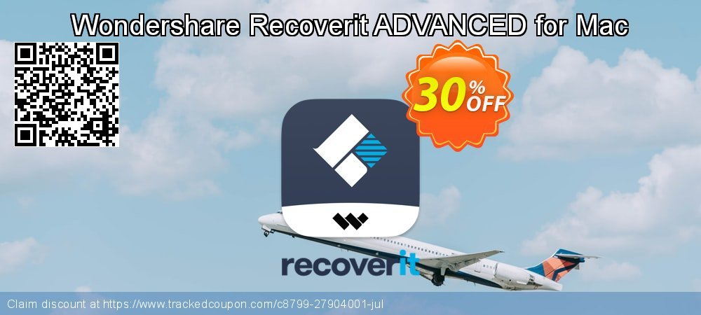 Claim 30% OFF Recoverit ADVANCED for Mac Coupon discount June, 2020